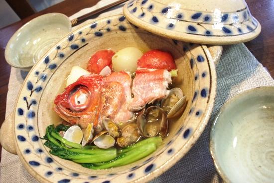 アクアパッツァ鍋