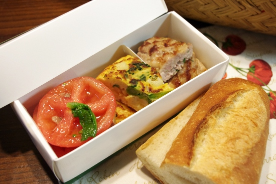 トマトとモッツァレラチーズのパニーニ