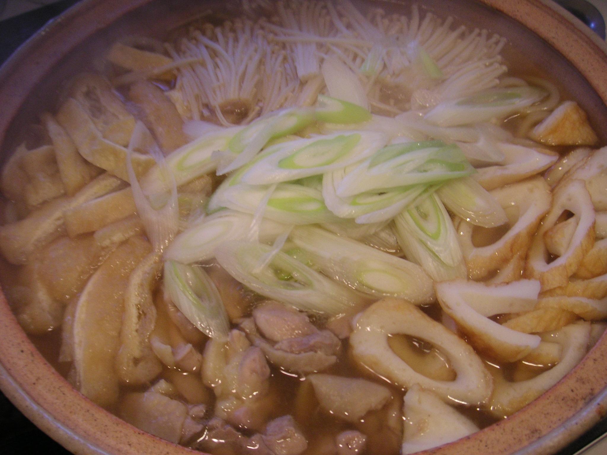 印刷用ページ うどん鍋 by 料理家 落合葉子 12月15日  うどん鍋|きちんとレシピ|フード