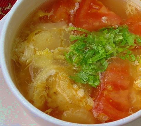 セロリ の 葉 スープ