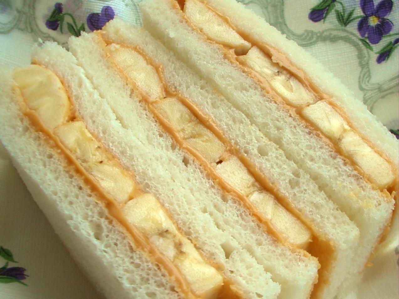 サンドウィッチ ピーナッツ バター