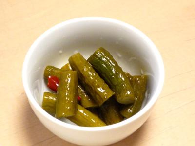 ミニ きゅうり レシピ