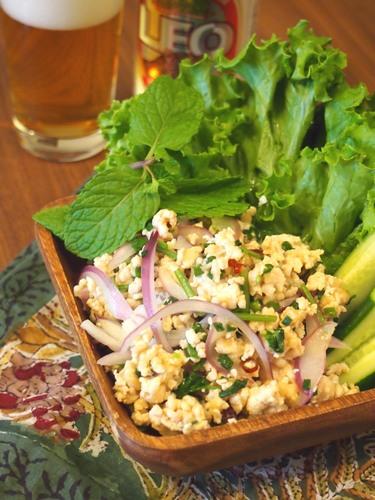 ラープガイ~鶏ひき肉のサラダ~ きちんとレシピ フードソムリエ