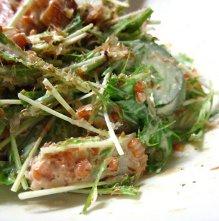 もろみ味噌を使った和サラダ