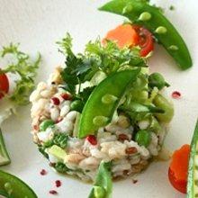 春野菜のライスサラダ