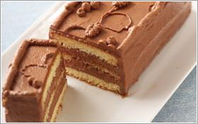 【写真】チョコレートケーキ