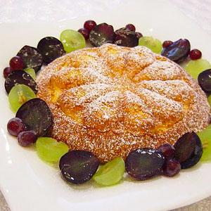 枝豆のフラワーケーキ