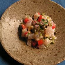 魚貝のタルタル
