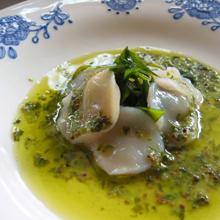 帆立貝のソースヴェール