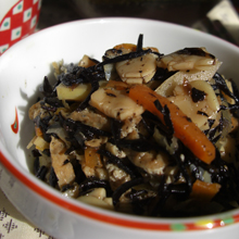 打豆のひじき煮