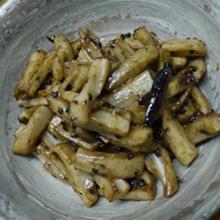 レンコンchinese花椒炒め