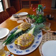 タイ風パイナップルライス