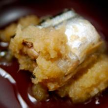 旬の秋刀魚のしょうがおろし煮