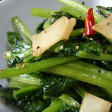 青菜deペペロンチーノ
