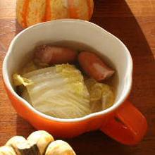 白菜のジンジャーポトフ