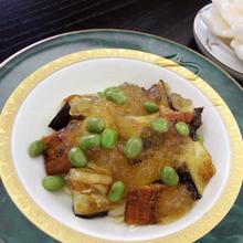 うなぎと枝豆のカッペリーニ