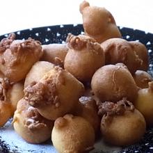 スィートポテトのおばけドーナツ