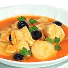 ニース風たらのトマトスープ煮