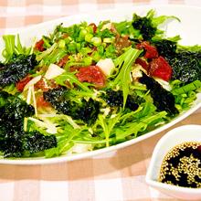 まぐろの韓国風サラダ