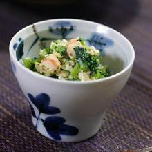 ブロッコリーの炒り豆腐