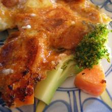ブロッコリーと季節野菜のムスカ