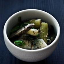 根菜たっぷり豚スープ