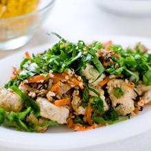 豆腐とヒジキのヘルシーソテー