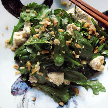 おいしい生春菊サラダ