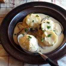 里芋の白みそクリーム煮