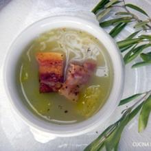 お★春キャベツと大根のスープ