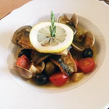 秋刀魚のクルスティヤン 地中海風