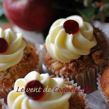 アップル・チーズ・カップケーキ