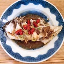 目鯛のニンニク醤油