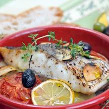 南仏風、鯛のオーブン焼き