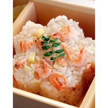 桜海老とたけのこの炊き込みご飯
