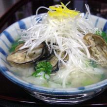 牡蠣の雑炊