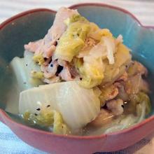 白菜と豚バラの煮込み