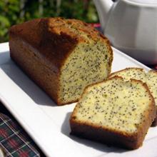 レモンブルーポピーシードケーキ