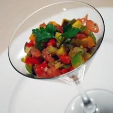 夏野菜のカクテル風
