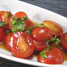 完熟トマトのマリナーレ