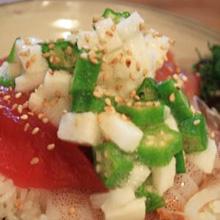 さっぱりネバネバ海鮮丼