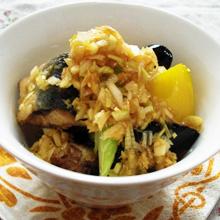 サンマと彩り野菜の香味揚げ