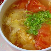 セロリとトマトスープ