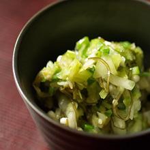野菜と昆布の浅漬け風