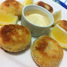 サーモンのフィッシュケーキ~イギリス風コロッケ
