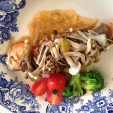 魚の包み焼き 「鮭のみそバター風味」