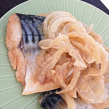 漬け込んでチン♪鯖の味噌煮
