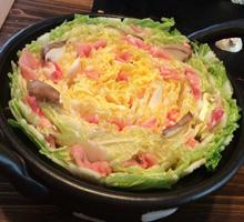 白菜の花煮・濃厚な胡麻ソース