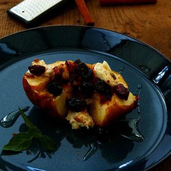 紅玉の焼きりんご