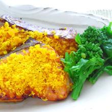 鮭の菜種焼き
